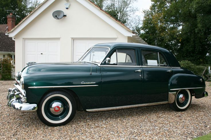 Plymouth Cambridge 1952 Rare Restored Car Sale Agreed