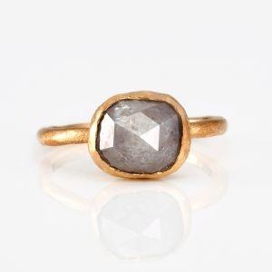 Silver and goldDreams Jewelry, Jewellery, Grey Diamonds, Kawakita Grey, Gray Stones, Kawakita Jewelry, Gray Diamonds, Jewelry Rings, Satomi Kawakita