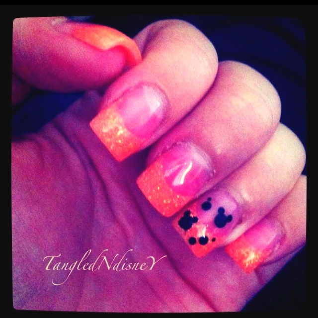 My Halloween Mickey nails.: Disney Stuff, Halloween Mickey, Nails Art, Crafts Ideas, Disney Clothing, 1St Birthday, Mickey Nails, Disney Inspiration, Disney Cruise