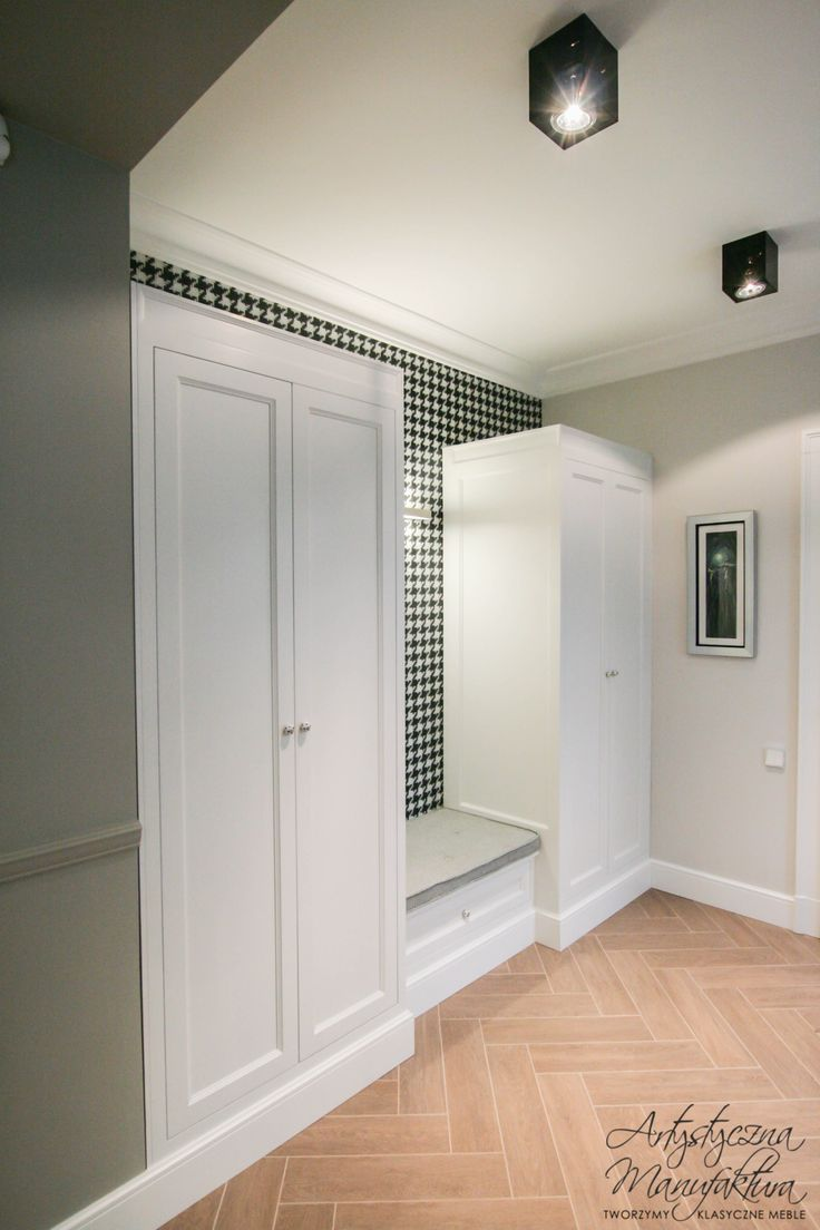 Fresh Built In Hallway Cabinets