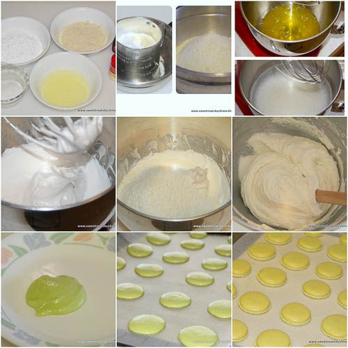 French Macarons  step by step photo directions