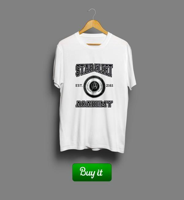 Star Fleet   Вступай в ряды Звездного флота. Борись и защищай, исследуй новые галактики, устанавливай с ними прочные дипломатические связи. И будь крутым. Всегда. #warriors #tshirt #Star #Trak #Звездный #путь #fantasy #футболки #Enterprise #academy