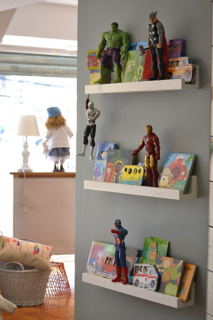 Repisas niños, decoración Infantil  El Clan Kids