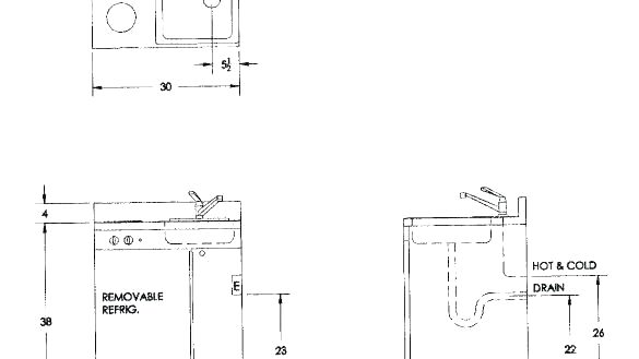 New Plumbing Rough In Dimensions Or Pedestal Sink Height Unique