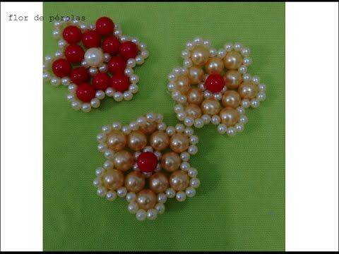 flor de perolas N°6 - YouTube