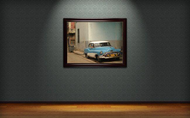 A personal favorite from my Etsy shop https://www.etsy.com/uk/listing/218374746/street-scene-in-havana-cuba-wall-art