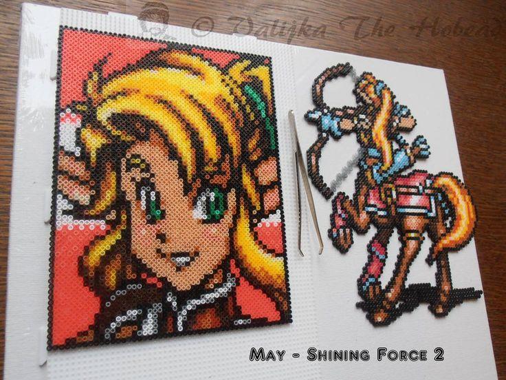 Mayt Portrait - Shining Force 2 ///  For more infos : https://www.facebook.com/Valijkathehobead/photos/pb.328699377295293.-2207520000.1421354040./415050115326885/?type=3&theater