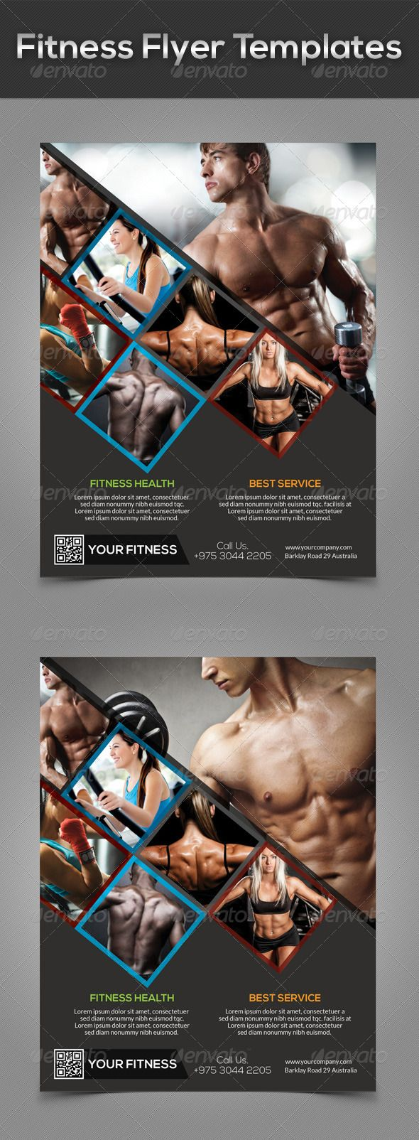 #Fitness #Flyer #Templates   #Sports #Events Download Here: Https: