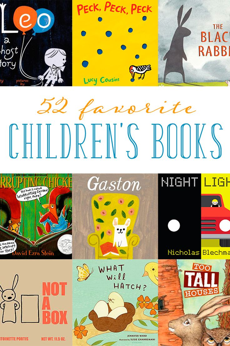 Reading aloud to our children encourages their interest in books. From classic to new, here are 52 of the best children's books to read throughout the year.