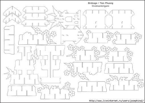 56 besten kirigami Bilder auf Pinterest | Kirigami, Papierkunst und ...