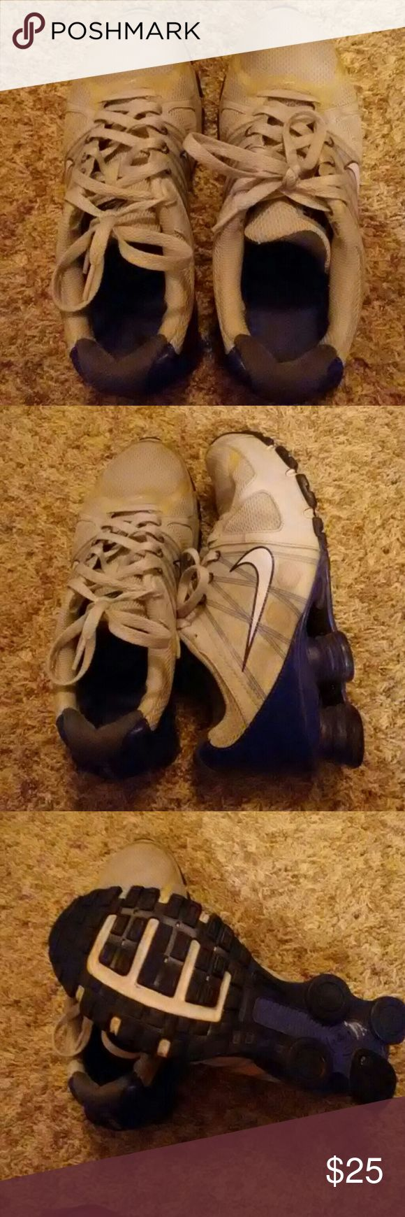Nikes Pre-Loved still a lot of life left! Nike Shocks Nike Shoes Athletic Shoes