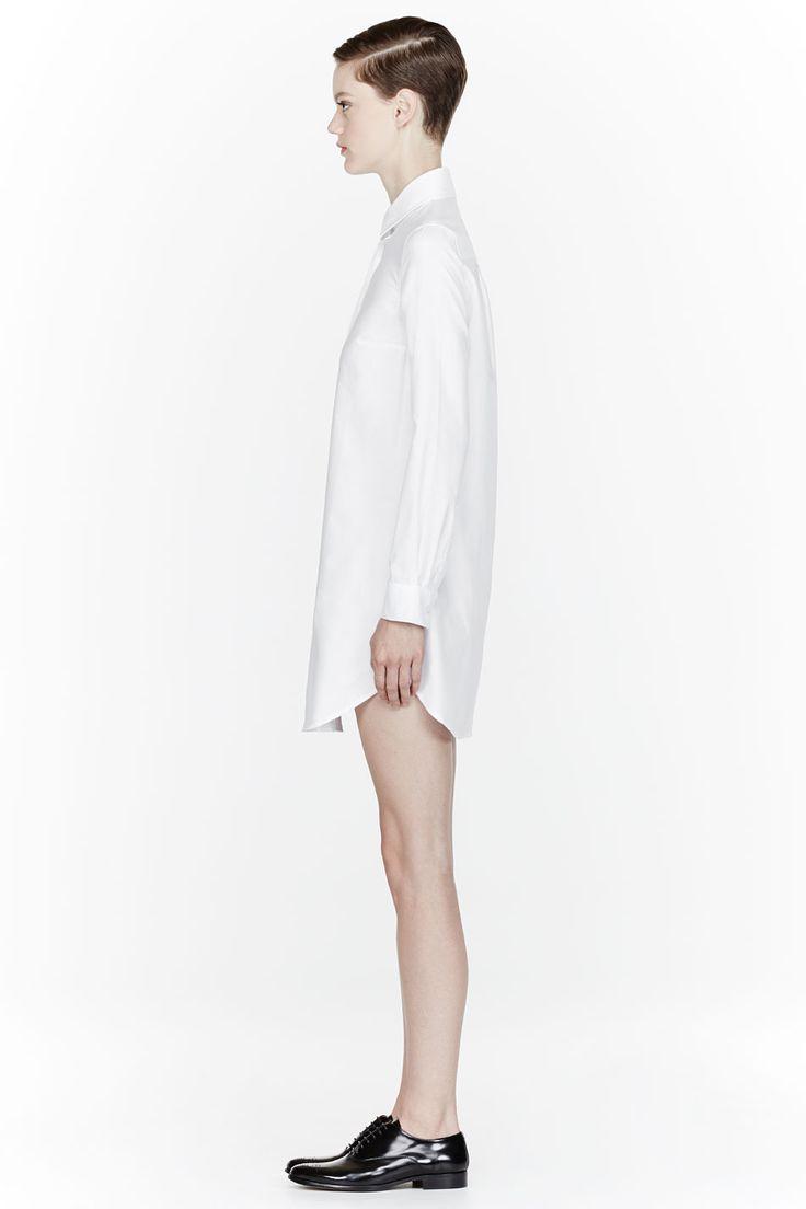 JW ANDERSON White classic Dress Shirt