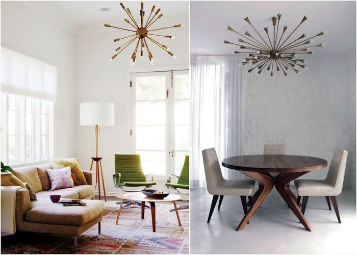 "This chandelier is perfect for my small space apertment. Looks modern and airy, should give good light. Люстра ""Спутник"" 