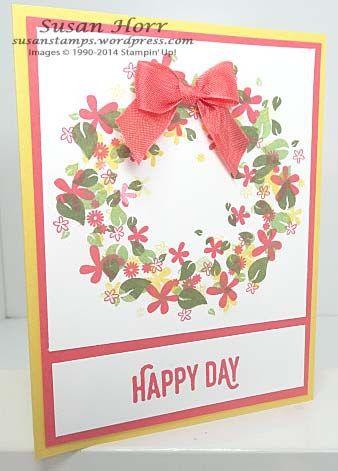 Perpetual Calendar, Perfect Pairings, Sale-a-bration, Stampin Up, susanstamps.wordpress.com