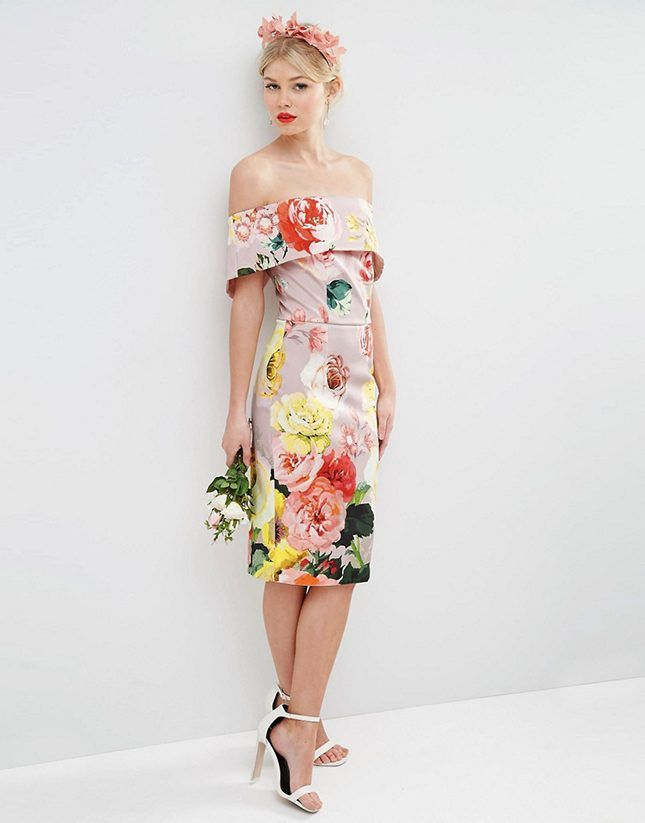 10 Mid-Length Bridesmaid Dresses Under $100 via @britandco
