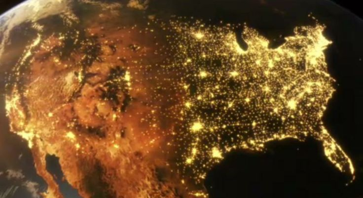 Aerial Data Visualisation Reveals Life In The United States - Imgur