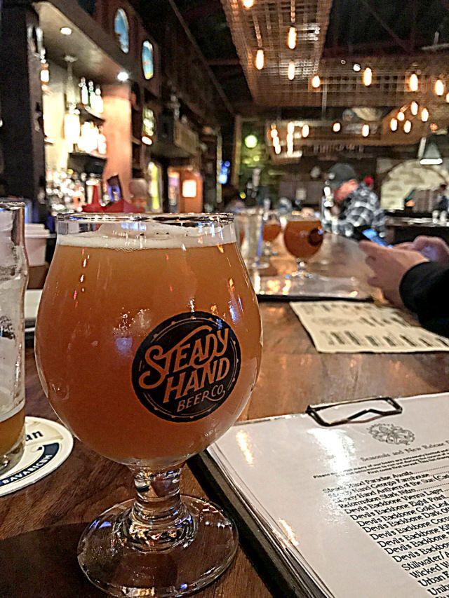 Atlanta Bar Scene Beer Pick: Steady Hand Georgia Farmhouse Ale | Atlanta Restaurant Scene