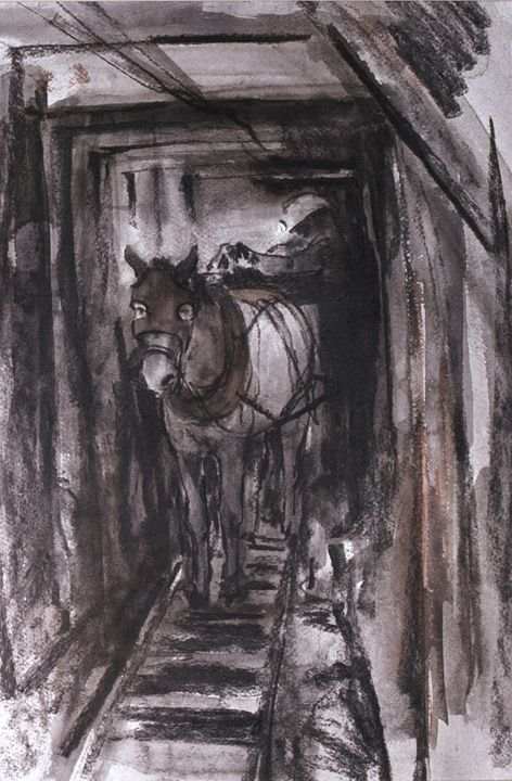 64 Best Images About Welsh Mining Art On Pinterest End