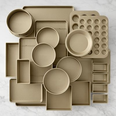 Williams Sonoma Goldtouch® Baker's Dream 25-Piece Bakeware Set #williamssonoma
