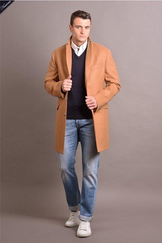 Exceptionnel Les 25 meilleures idées de la catégorie Manteau laine homme sur  XY12