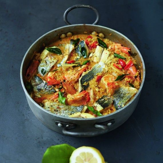Jamie Oliver's Easy Curried Fish Stew - Woman And Home