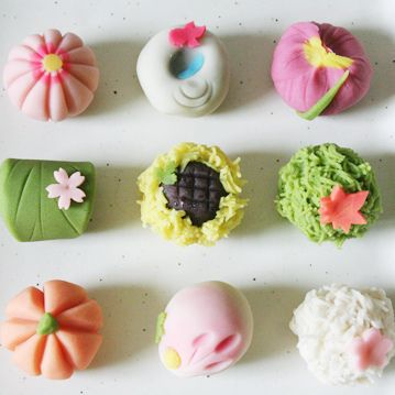 wagashi, absolute vegan! by p o n z u, via Flickr