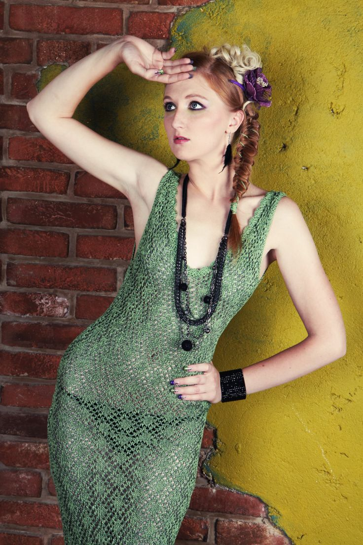 knitted prom lace dress #lace #knitted #dress #prom