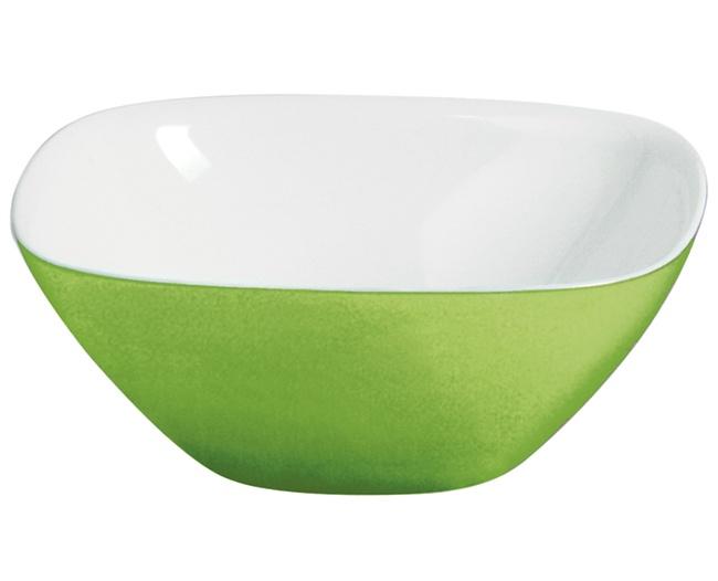 Guzzini Vintage Small Two Tone Bowl, Green