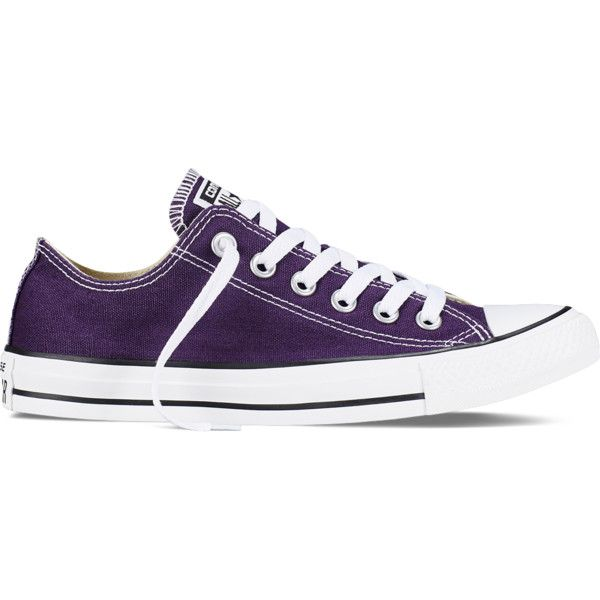 Converse Chuck Taylor All Star Fresh Colors – eggplant peel Sneakers ($55) ❤ liked on Polyvore