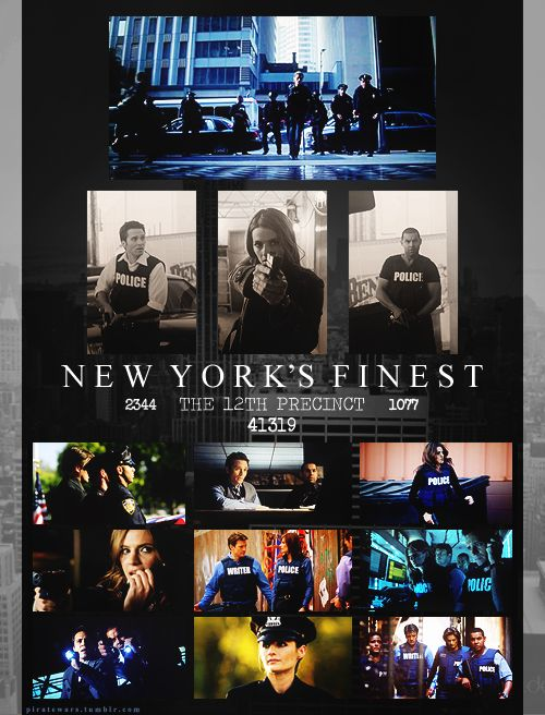 New York's finest | 12th precinct | Castle  Its probably just me but I don't like beckett as an agent.. :'(