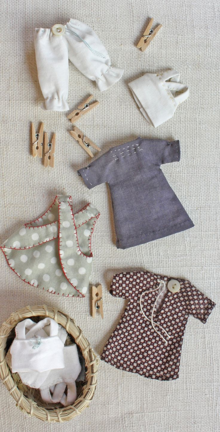 tiny rag doll sewing pattern More
