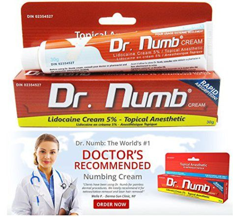 DR NUMB 30g Numbing Anesthetic Skin 5% Lidocaine Cream for Tattoo Piercing Laser Waxing - http://www.yourdreamtattoos.com/dr-numb-30g-numbing-anesthetic-skin-5-lidocaine-cream-for-tattoo-piercing-laser-waxing/?utm_source=PN&utm_medium=http%3A%2F%2Fwww.pinterest.com%2Fpin%2F368450813235896433&utm_campaign=SNAP%2Bfrom%2BYour+Dream+Tattoo