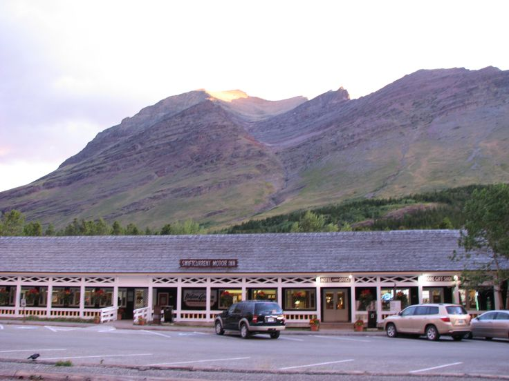 many glacier hotel | swiftcurrent motor inn or the much fancier many glacier hotel