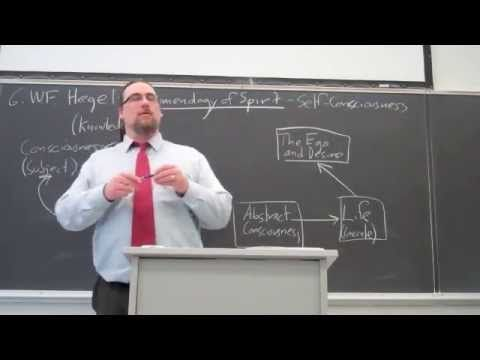 Intro to Philosophy, G.W.F. Hegel, Self-Consciousness and Master-Slave D...