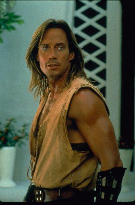 Kevin Sorbo in Hercules: The Legendary Journeys.