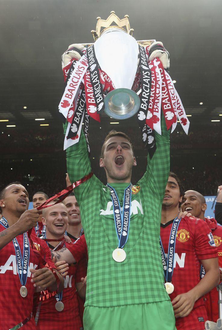 Spanish goalkeeper David De Gea was instrumental in helping @manutd to Premier League glory in 2013.
