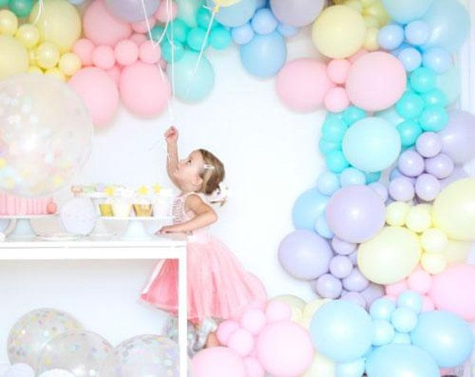 Bubble Balloon Strands Diy Get This Look Birthday Bar Mitzvah