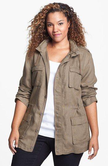 Olivia Moon Safari Jacket (Plus Size) | Nordstrom