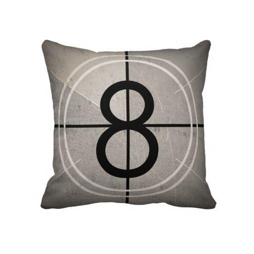 Film Countdown Pillow