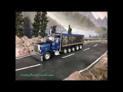 Custom Model Peterbilt dump truck