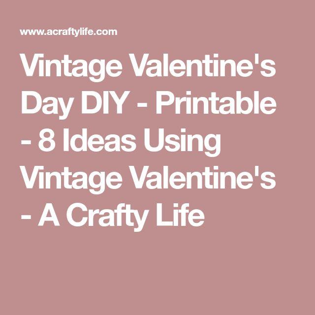 Best 25+ DIY vintage Valentine\'s cards ideas on Pinterest ...