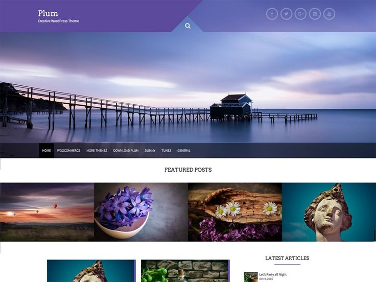 Plum — Free WordPress Themes