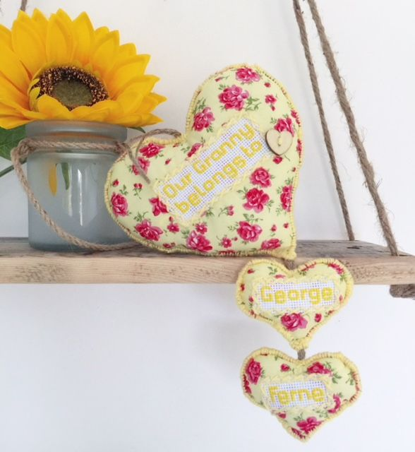 Personalised Childrens Names Hanging Keepsake  This personalised heart hanging is a lovely gift from children or grand-children for Birthdays, Mothers Day or any special occasion!  A treasured keepsake the recipient will keep forever.