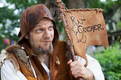Bristol Renaissance Faire: 2012  Amil Stands - Rat Catcher