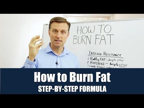 How To Burn Fat Step-by-Step Formula
