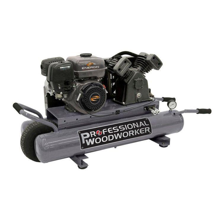 9 Gal. 6.5 HP OHV Pro Duty Wheelbarrow Design Gas Air Compressor