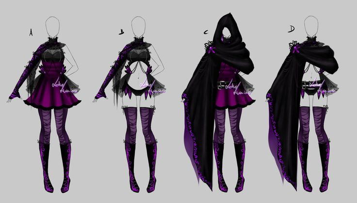 Outfit design - 196  - closed by LotusLumino