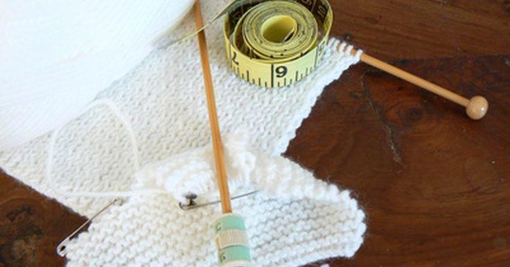Cómo Tejer suéteres para perros