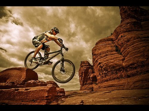 Moutain Biking Photography