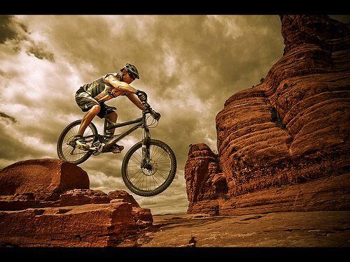 Moutain Biking Photography